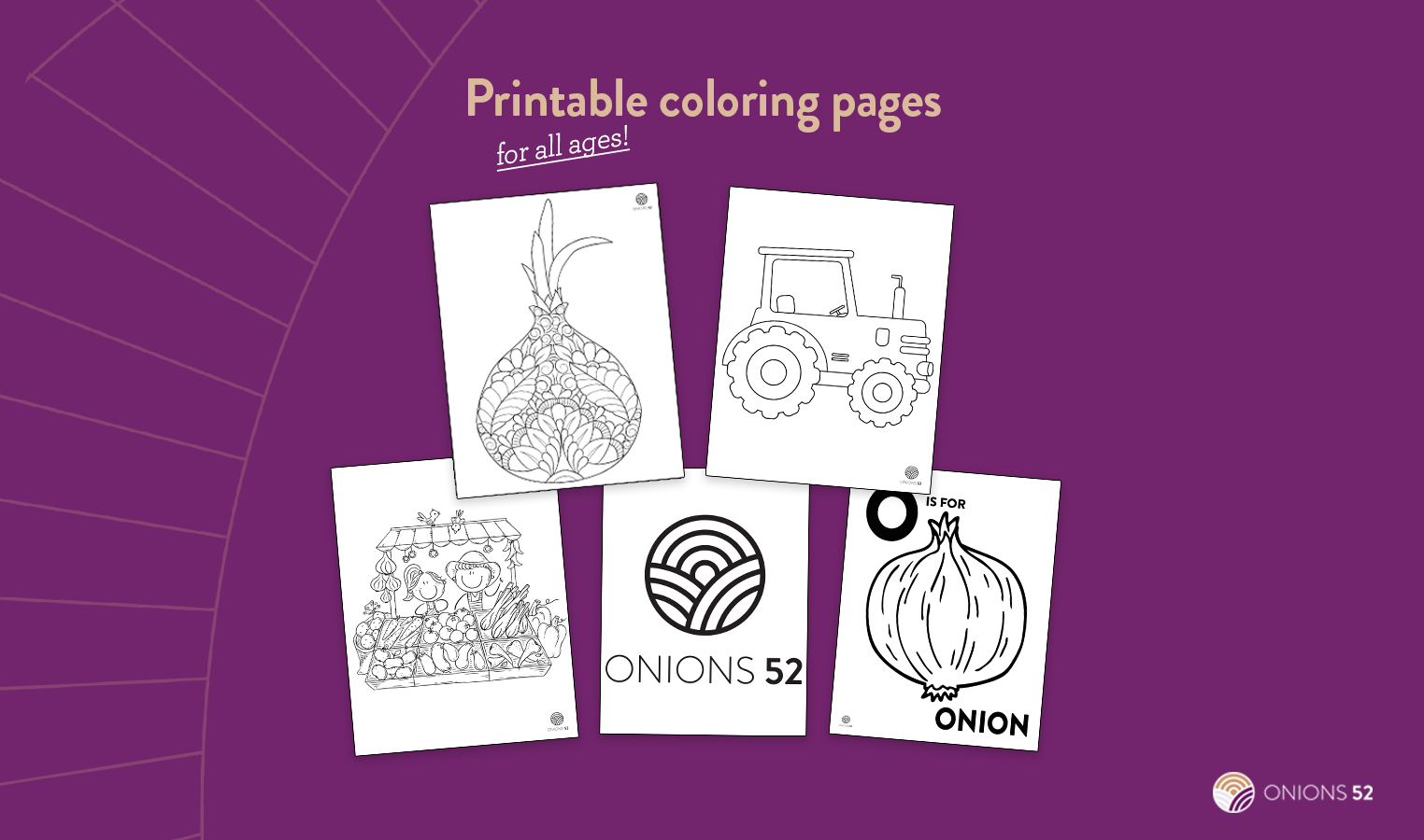 Printable Coloring Pages from Onions 52