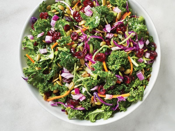 Ultra Simple Chopped Kale Salad from Hy-Vee