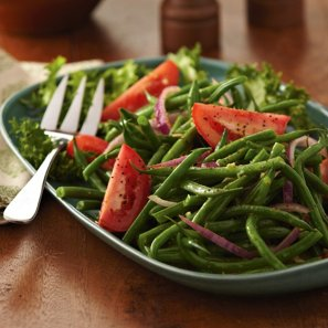Marinated Tomato and French Bean Salad | From H-E-B