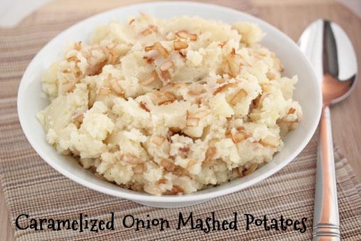 Mashed Potatoes with Caramelized Onion