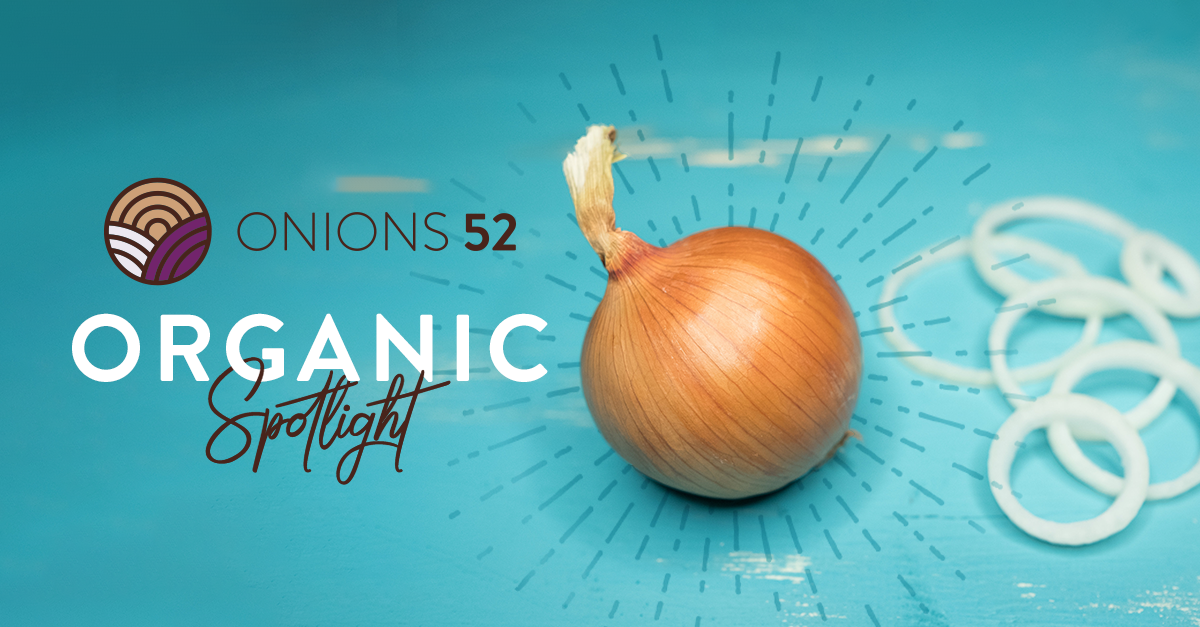 Onions 52 to Showcase Organic Tearless and Sweet Sunions® at Upcoming Southern Innovations; Falon Brawley Discusses