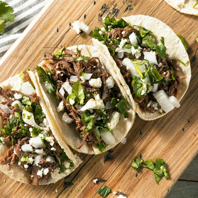 Pressure Cooker Sweet Pork Tacos